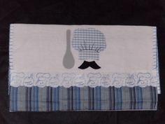 pano de prato aplicado masculino