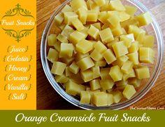 Orange Creamsicle Gummy Fruit Snacks