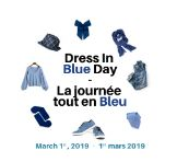 Dress In Blue Day 2019 March, Blue, Dresses, Vestidos, Dress, Gown, Mac, Outfits, Dressy Outfits