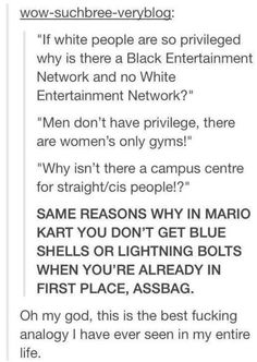 ~Excuse the language but seriously this is an excellent analogy well done Tumblr.