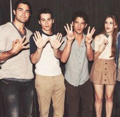 Tyler, Dylan, Tyler, and Holland