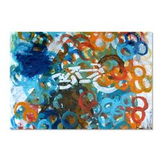 $270 Find it at the Foundary - Bicycle Crossing Print - 24 x 30 in.