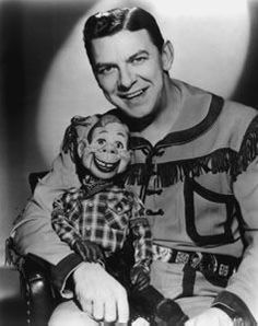 The Howdy Doody Show produced by NBC and Roger Muir was a wildly popular and beloved children's TV show in the 50's. Marionnette Howdy Doody came alive via a mechanism of 11 strings and voiced by ventriloquist Buffalo Bob Smith.