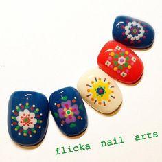 「 千鳥格子ネイル 」の画像 茨城県水戸市プライベートネイルサロン flicka Nail Arts Ameba (アメーバ)