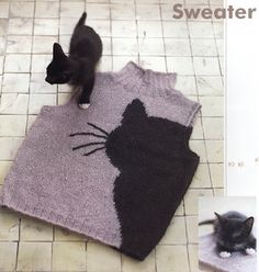 A Japanese knitting book for cat lovers