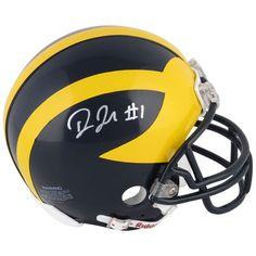 Devin Funchess Michigan Wolverines Fanatics Authentic Autographed Riddell Mini Helmet