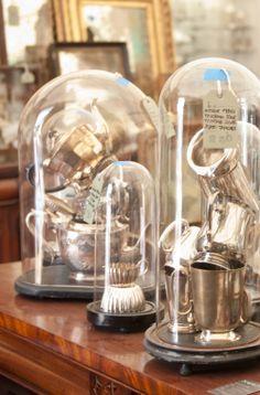 silver pieces | marburger farm antique show | roundtop, texas