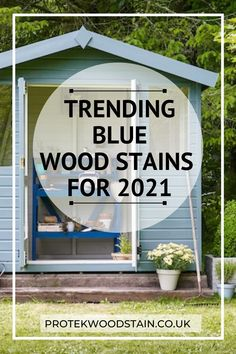 Trending Blue Garden wood stain Ideas for 2021. If you are looking for blue garden wood stain to add to your outdoor then look no further that these blue garden wood stains which are an essential part of your outdoor project. Whether you have garden furniture, fences, or decking you need a blue garden wood stain for your latest outdoor project. #protekwoodstain Blue Wood Stain, Wood Stain Colors, Blue Garden, Weathered Wood, Decking, Outdoor Projects, Fences, Garden Furniture, Painting On Wood