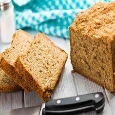 100 Percent Whole Wheat Sandwich Bread Recipe | MOTHER EARTH NEWS 100 Percent Whole Wheat Bread Recipe, Whole Wheat Sandwich Bread Recipe, Sandwich Bread Recipes, Boule Bread Recipe, Biscuit Recipe, Real Food Recipes, Baking Recipes, Yummy Food, Cooking Bread
