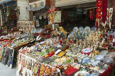 #Xian Muslim market #China #travel