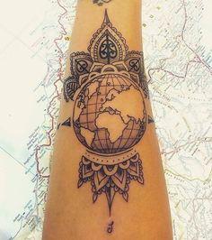Tattoo-Globus-Globe-008
