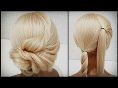 Long Hair Upstyles, Lisa Rinna, Step By Step Hairstyles, Fast Hairstyles, Hair Videos, Short Hair Styles, Hair Makeup, Hair Color, Hair Beauty