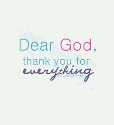 Im very thankful!