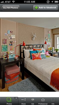 Puurfect dorm room idea!