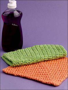 Magic Square Lacy Dishcloth free crochet pattern