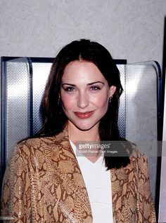 """Actress Claire Forlani attends the premiere of """"Boys And Girls"""" June 2000 in New York City. Get premium, high resolution news photos at Getty Images Claire Forlani, 90s Models, Soft Summer, Celebs, Celebrities, Classic Beauty, Boy Or Girl, Actresses, Female"""