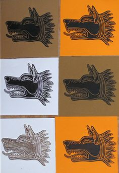 Linocut -Draco head Dragon Boat, Draco, Moose Art, Wolf, Tattoos, Animals, Inspiration, Atelier, Biblical Inspiration