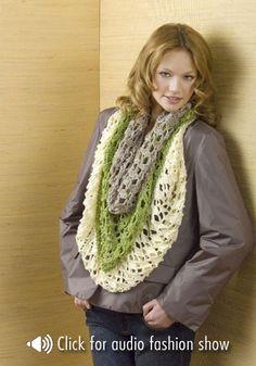 shawl worn as a cowl