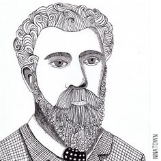 Portrait of Georges Seurat by Ninatown
