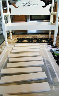 How to Build a Headboard Bench | Confessions of a Serial Do-it-Yourselfer