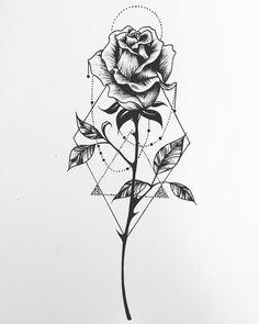 Baby Tattoos, Mini Tattoos, Rose Tattoos, Flower Tattoos, Body Art Tattoos, Rose Drawing Tattoo, P Tattoo, Tattoo Sketches, Tattoo Drawings