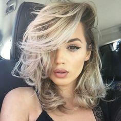 Модное окрашивание волос 2018; свежие идеи