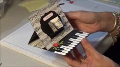 Perfect for music lovers. This card has the WOW factor. Let me show you how to create this gorgeous Easel Card ~~~~~~~~~~~~~~~~~~~~ Please check me out for t...