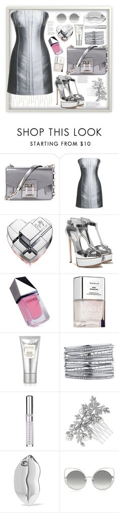 """Sparkle metallics"" by natalyapril1976 ❤ liked on Polyvore featuring Proenza Schouler, Leka, DKNY, GUiSHEM, Laura Mercier, Chantecaille, Jon Richard, STELLA McCARTNEY and Marc Jacobs"
