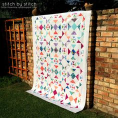 Stitch by Stitch: Finally, a finished quilt top!