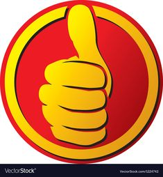 Hand showing thumbs up button vector image on VectorStock Animated Emoticons, Funny Emoticons, Funny Emoji, Smileys, Thank You Quotes Gratitude, Thumbs Up Icon, Science Diagrams, Alan Ford, Sign In Sheet