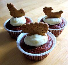 "Cupcakes ""Farm"" Birthday Parties, Cupcakes, Desserts, Food, Anniversary Parties, Tailgate Desserts, Cupcake Cakes, Deserts, Birthday Celebrations"