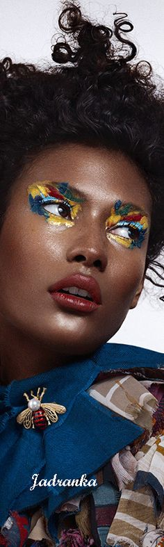 Beautiful World, Most Beautiful, Queen Bees, Yves Saint Laurent, Creativity, Behance, Fantasy, Stylish, Makeup