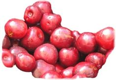 Cherries and all fruit chart - nutritional information