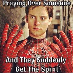 Praying Over Someone... And They Suddenly Get The Spirit