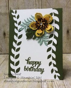 Botanical Blooms, Botanical Builder Dies, Stampin' Up!, Tin of Cards, What Will You Stamp?, WWYS, stampinginferno