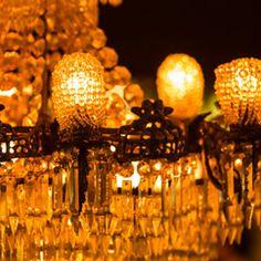 Amazing chandelier at Cru Bar, James Street