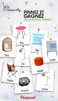 Pinnez et tentez de gagner votre produit préféré ! #35ansfly
