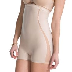 bcc1432a37 Love Your Assets Luxe   Lean High-Waist Girl Short - Dusty Rose