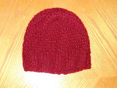 Knitting with Schnapps: Introducing the Happy Hat! -- I think I'll be making this for my kid's BFF's birthday present.