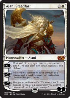 Ajani Steadfast   Magic: The Gathering Card