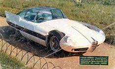 Pininfarina Alfa Romeo 6C 3000 CM body type 1 'Superflow I' 1956