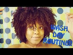 ▶ Natural Hair| Wash Day Routine ! - YouTube