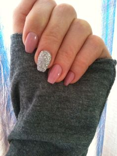 I love this nails #ballerine shape nails#
