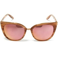 Barton Perreira Gold Ronette Horn Sunglasses ($590) ❤ liked on Polyvore featuring accessories, eyewear, sunglasses, mirrored lens sunglasses, barton perreira sunglasses, cat-eye glasses, gold lens sunglasses and mirror lens sunglasses