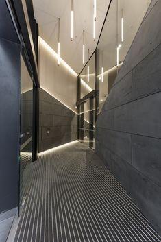 570 Bourke Street Melbourne * Lighting Design by Electrolight * Interior Design…