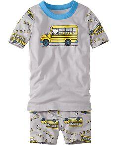 Peanuts Short John Pajamas In Organic Cotton from #HannaAndersson.