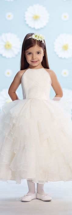 Joan Calabrese for Mon Cheri - Style No. 116366 #flowergirldresses