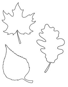 Watercolor Fall Leaf Kids Craft