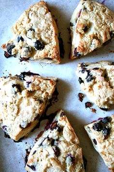 Buttermilk Blueberry Scones, Just Baked