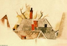 by Charles Demuth (1883-1935, United States)
